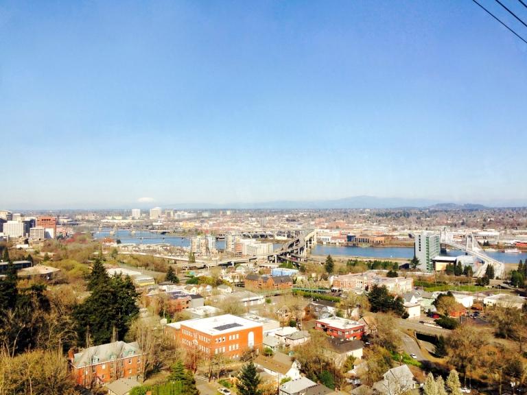 Portland Aerial Tram - Oyako Portland15