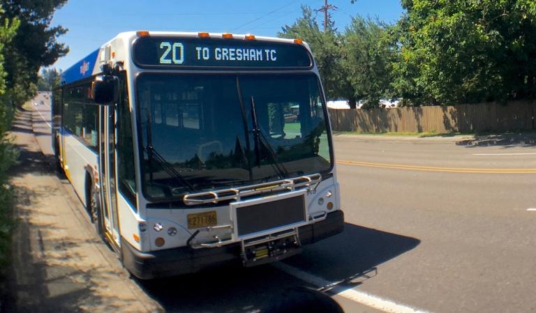 ポートランドの路線バス