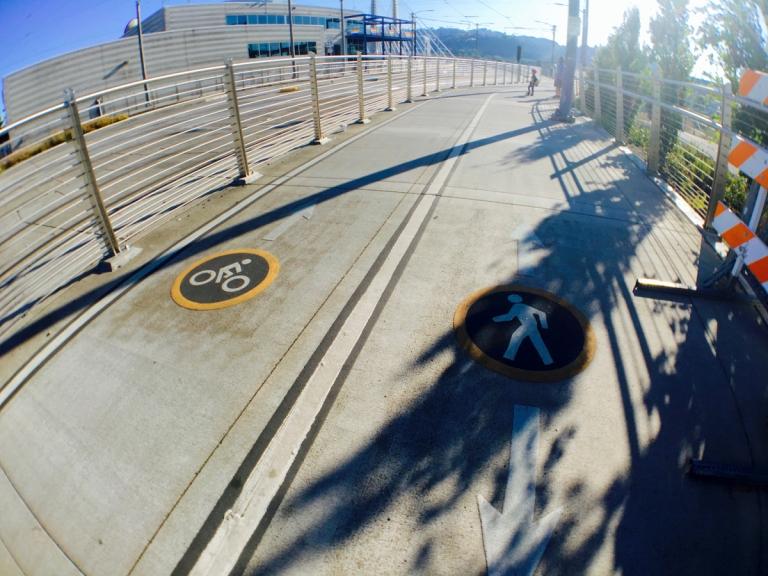 ポートランドにできた新しい橋ティリカムクロッシングを実際に歩いて渡ってみた