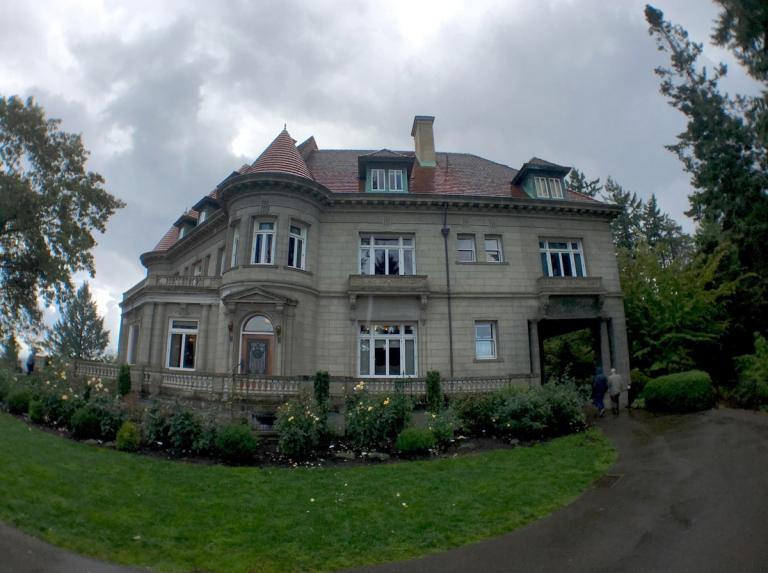 ポートランドにある歴史ある豪邸ピトック邸