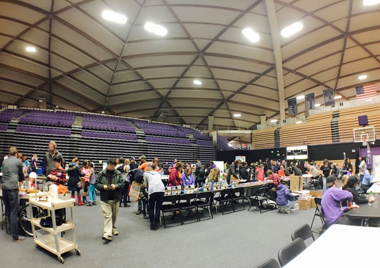 university of portland reading fair and stem day - Oyako Portland3