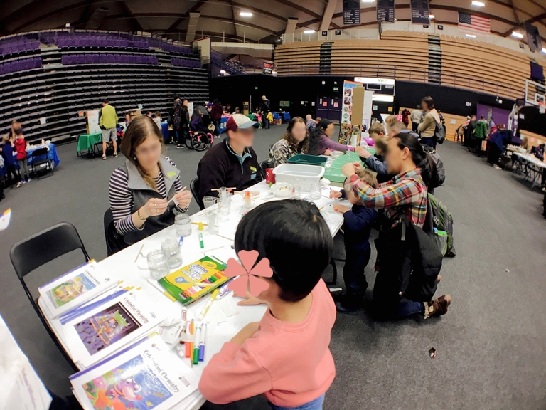 university of portland reading fair and stem day - Oyako Portland5