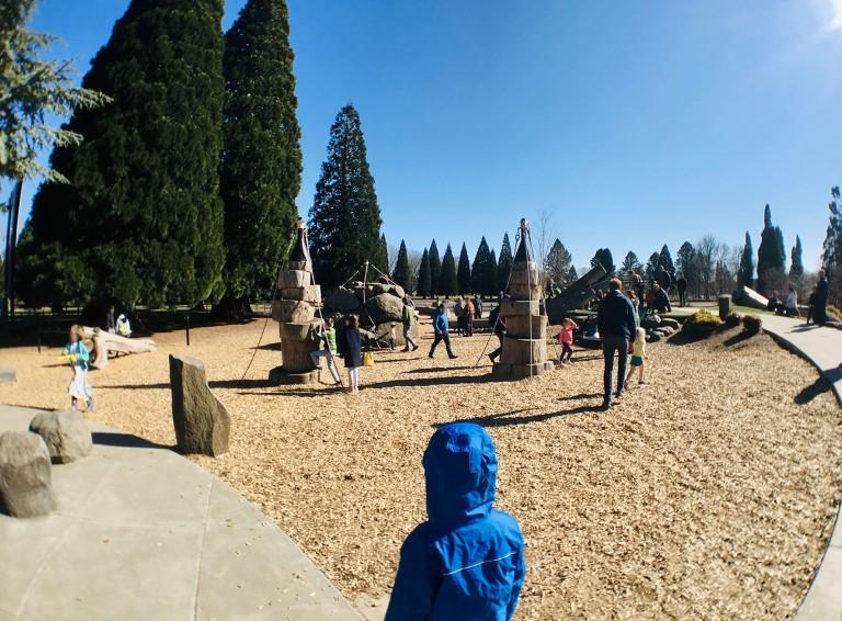 Westmoreland Park Nature Playground - Oyako Portland4